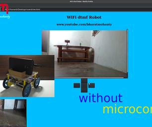 WIFI DTMF ROBOT