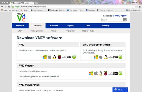 Step 2: Download and Install VNC Viewer on Your Mac or PC.