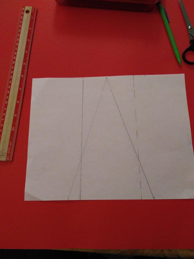 Draw a Stencil of a Triangle