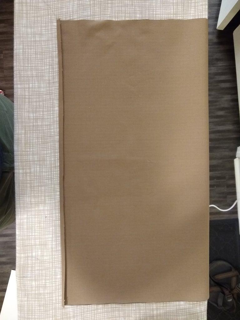 Step 2: Fold and Iron Hem