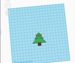 Christmas Tree on Tinkercad CodeBlocks
