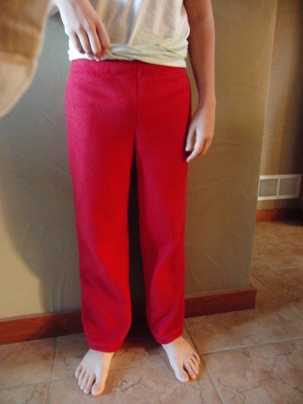 Easy Pants for the Beginner