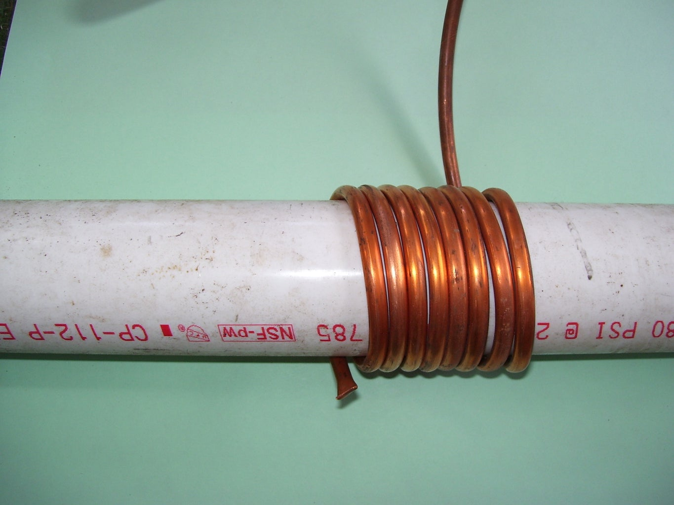 Coiling the Copper