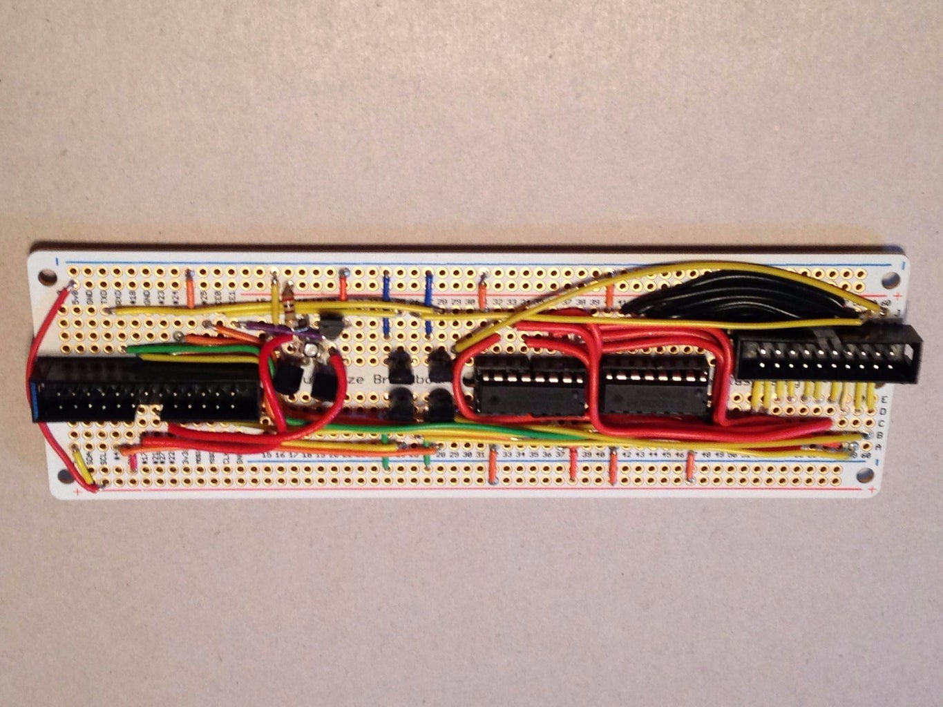 Solder the Control Circuit