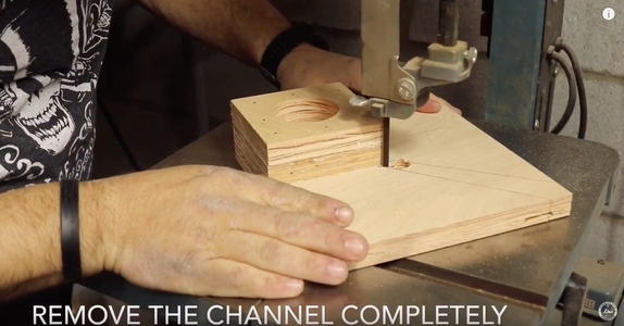 Cut a Channel for Glue Squeeze Out
