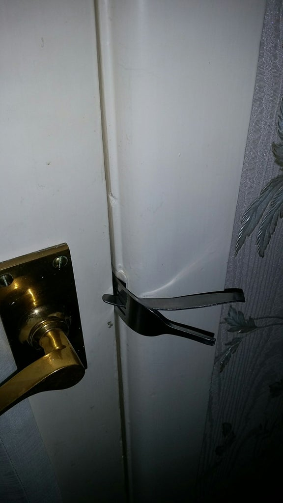 Insert Into Lock and Secure