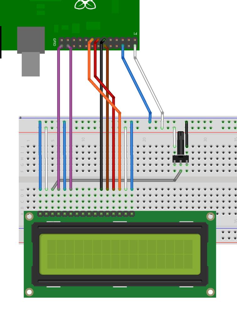 Step 4: LCD Module Display