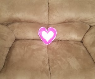Duct Tape Valentine Pillow