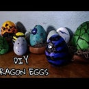 DIY Dragon Egg Props