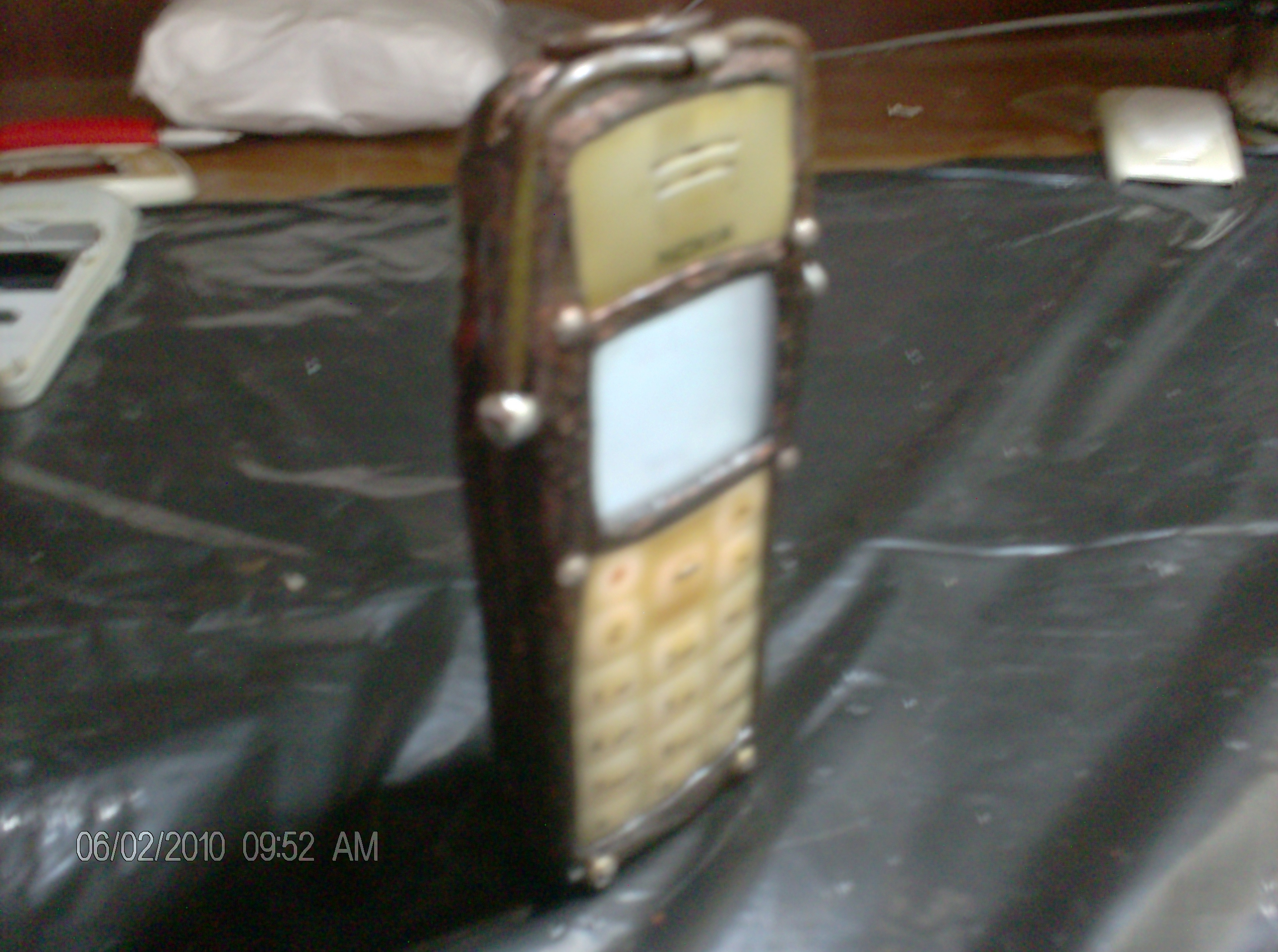 Steampunk Cellphone