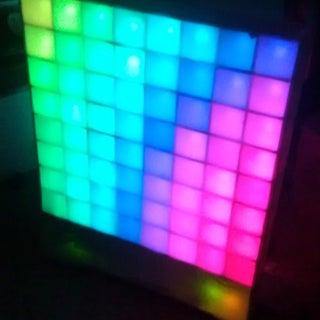Lampduino - an 8x8 RGB Floor Lamp