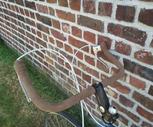 Leather Bicycle Handlebar Grip