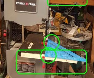 Bandsaw and Workshop Tricks.