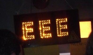 EEE Reborn – Flashing LED Sign