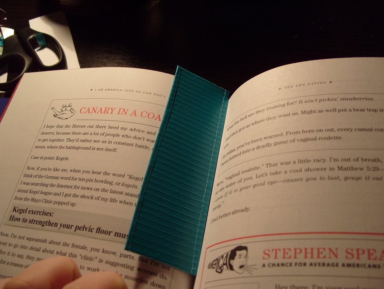 Duck Tape Bookmark