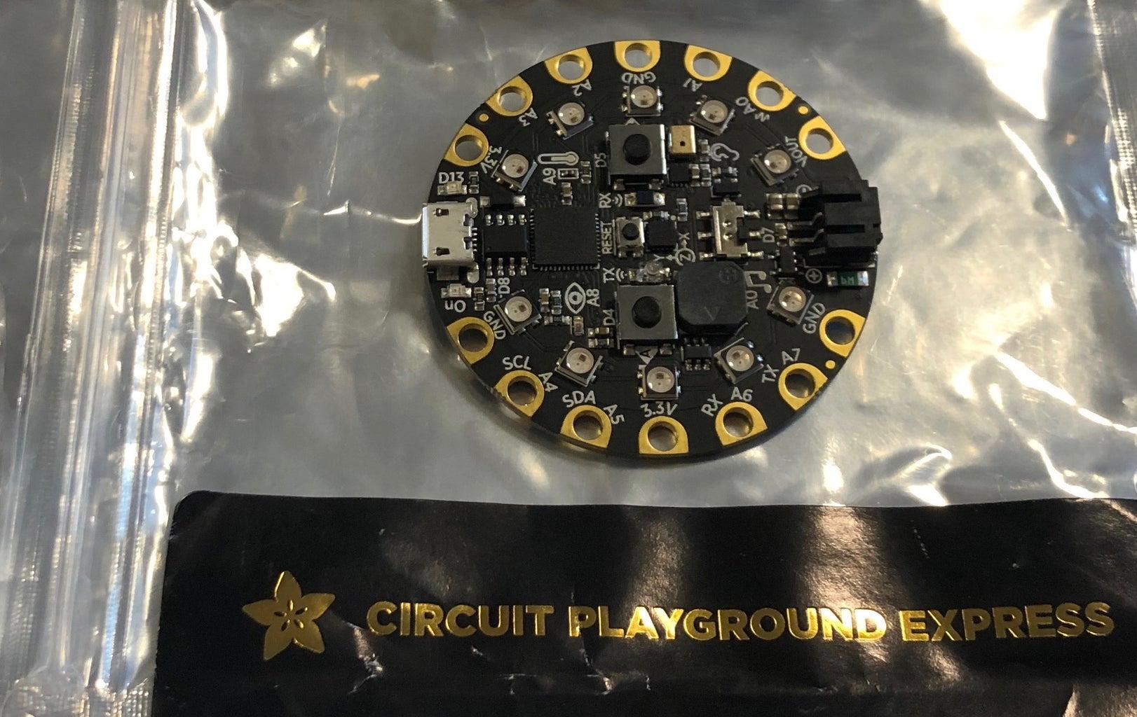 Programming Circuit Playground