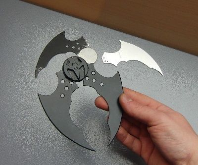 Working FLIP OPEN Batarang !