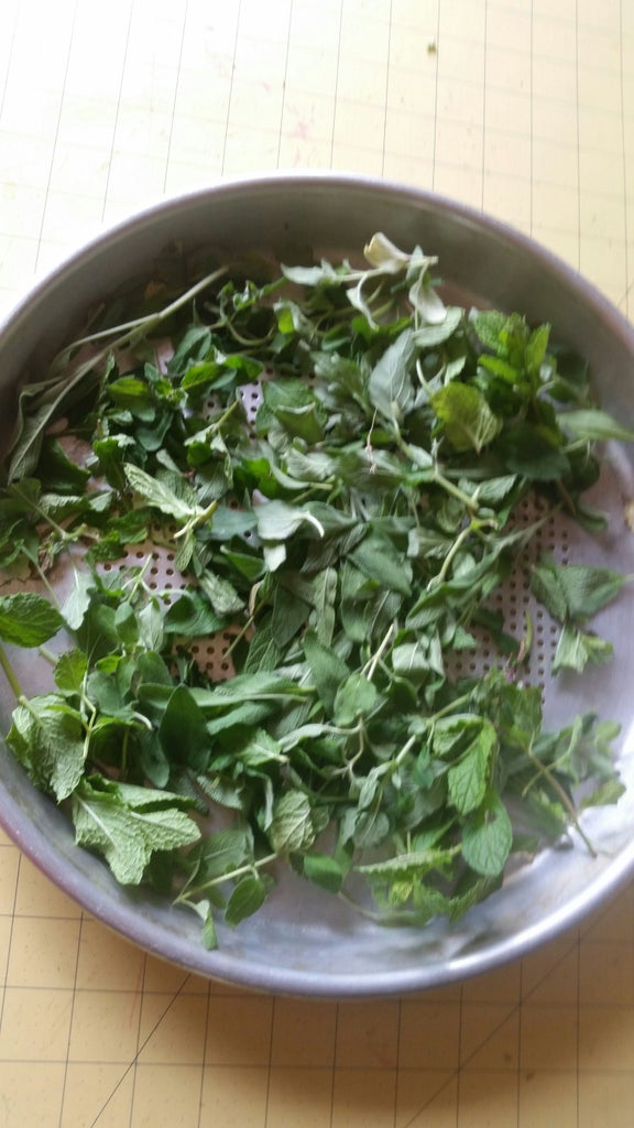 Stringing Up the Herbs