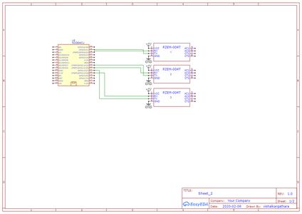 Connection Diagram of Multiple PZEM 004T With Nodemcu