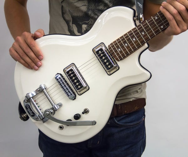 Build a Retro Guitar in 12 Easy Steps!
