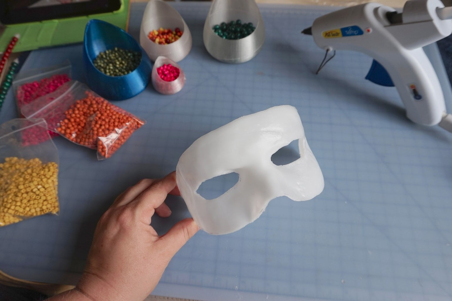 Decorating the Mask