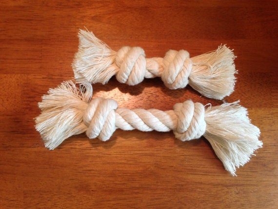 How to Create a Simple Rope Dog Toy