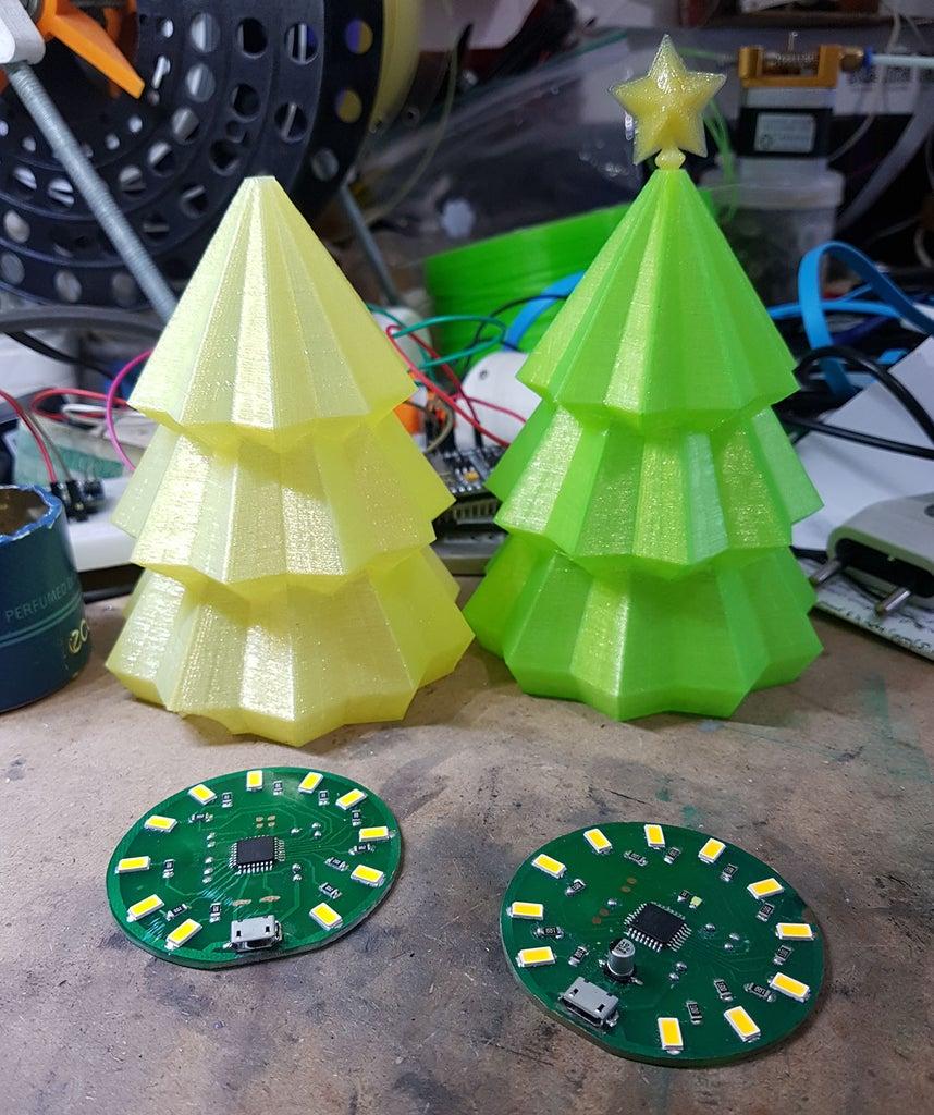 Christmas Tree ATmega (arduino)