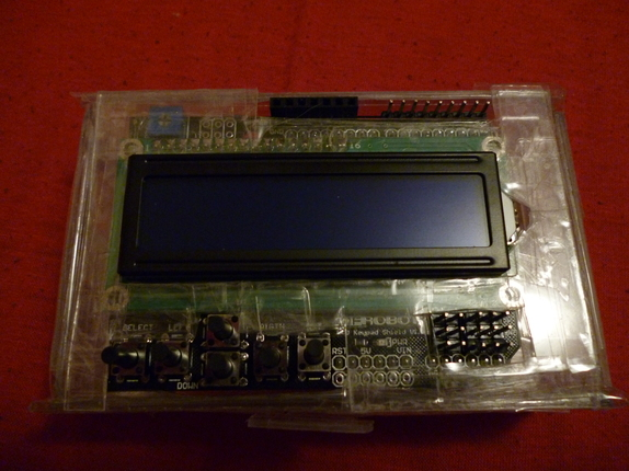 Arduino Car g-Meter Display
