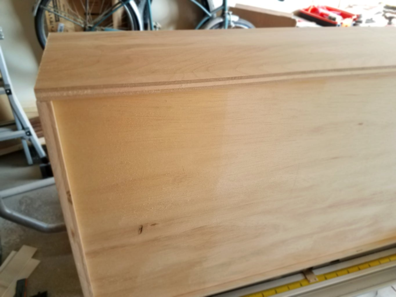 Cut Pocket Holes for Drawers and Assemble
