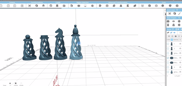 Creating the Fouth Piece of Chess