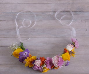 DIY With Flowers: Spring Flower Crown