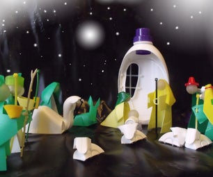 Unorthodox Nativity, Gabriel's Message in a Plastic Bottle