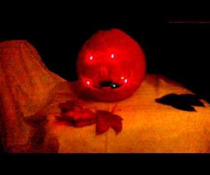 Arduino Powered Halloween Pumpkin With Motion Detection