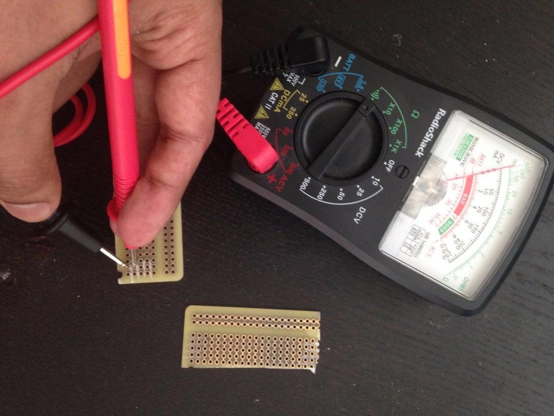 Preparing the PCB