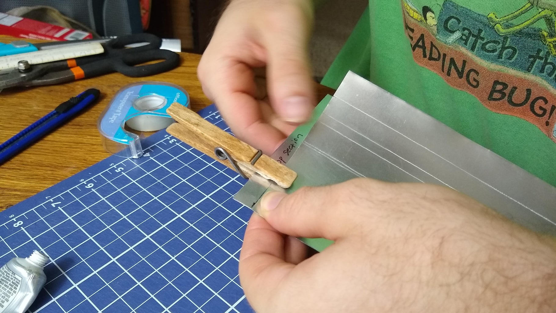 Make the Sheets Into Cylinders