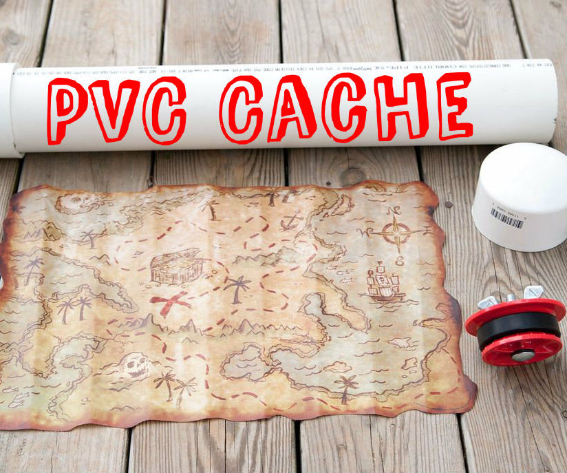 Waterproof Underground PVC Cache