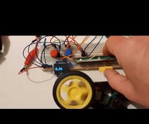 DC Motor Smooth Start, Speed  and Direction Using a Potentiometer, OLED Display & Buttons