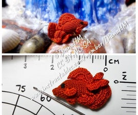 HOW TO MAKE a VERY THIN HOOK AND CROCHET a TINY BETTA FISH