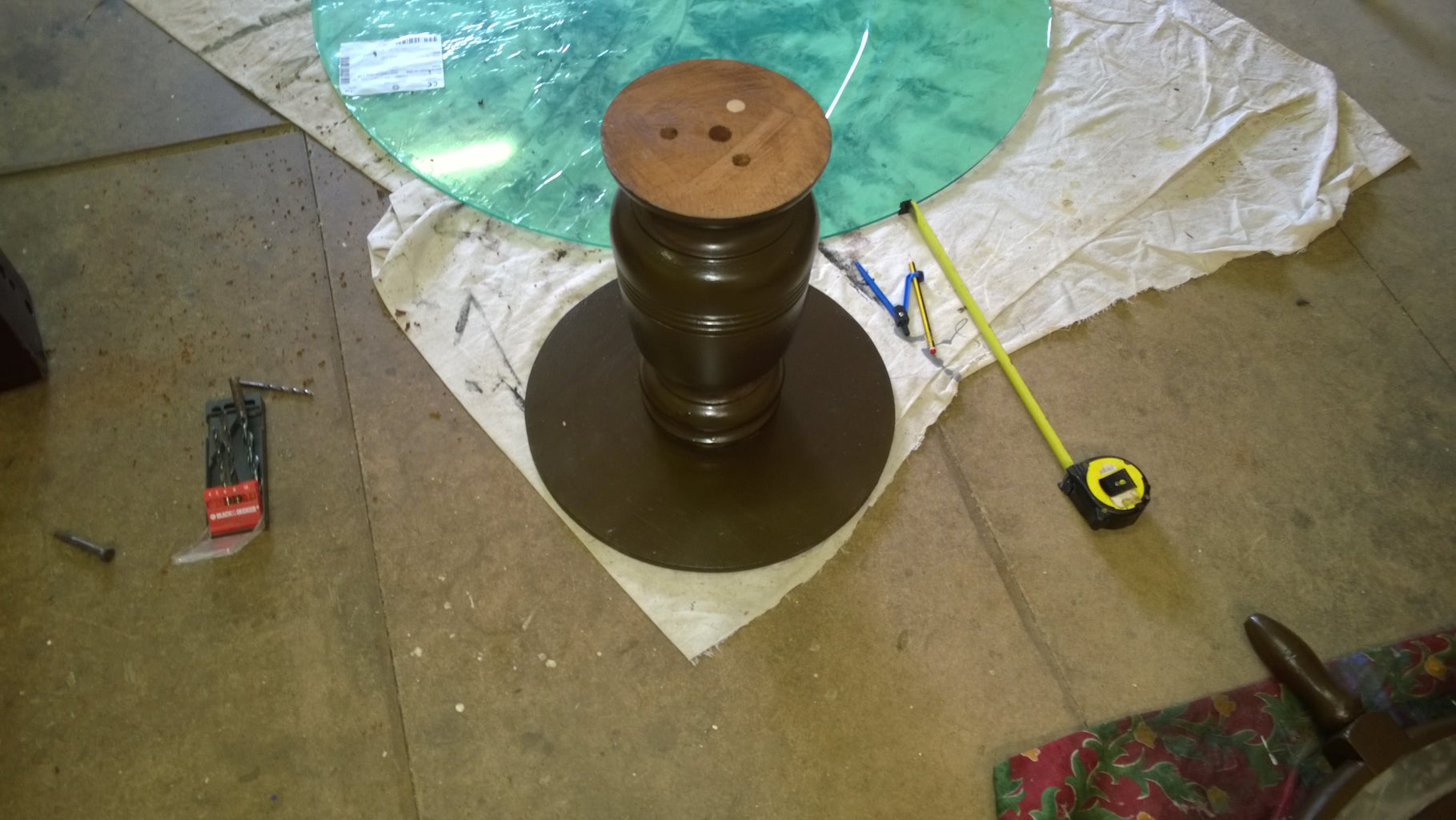 Making the Table Base