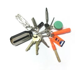 EDC on a Key Chain, 3 Parts…