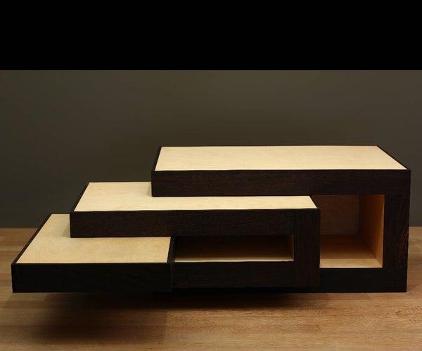 Modular Coffee Table (Design Reinier De Jong)