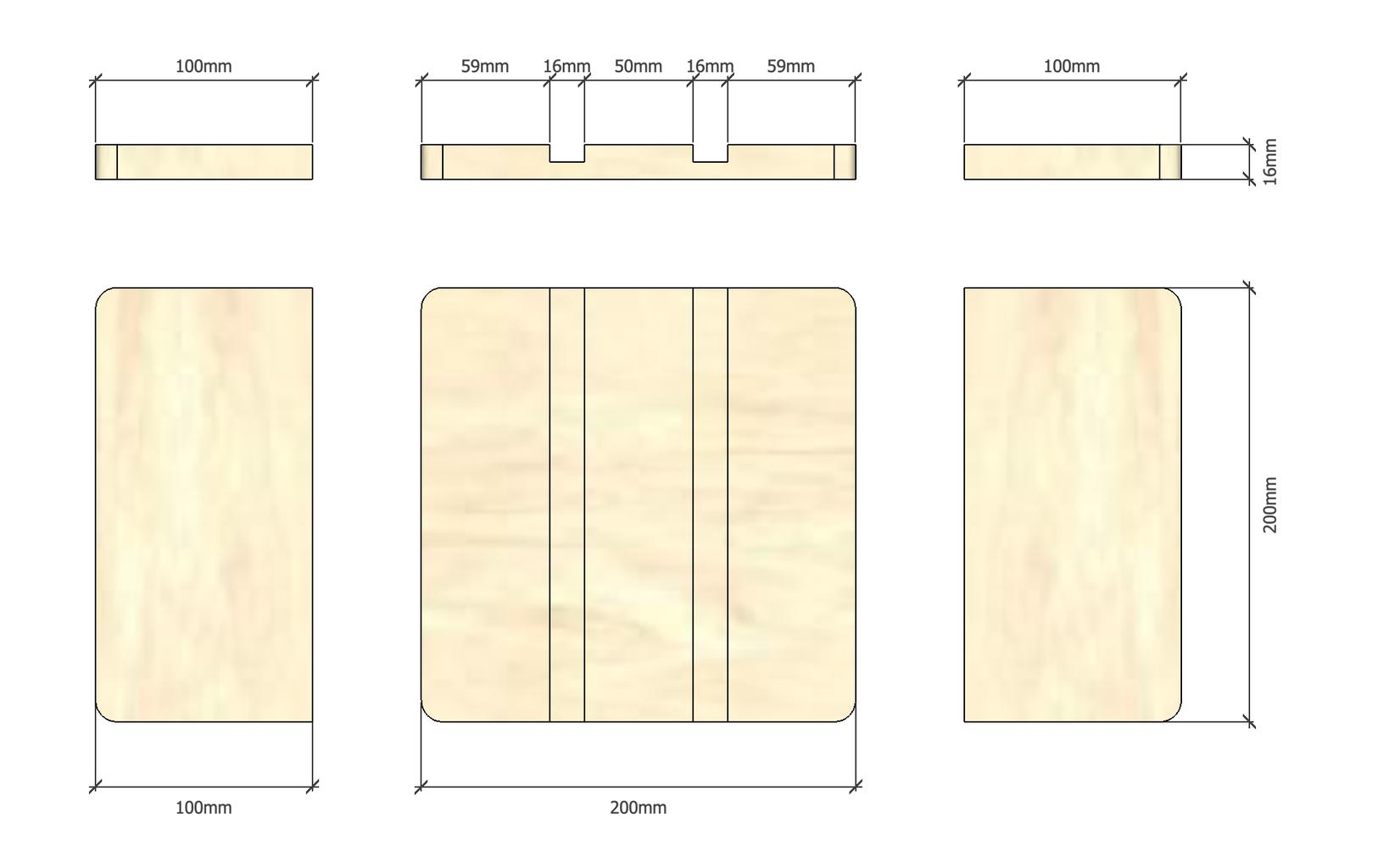 Blueprints and Materials