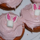 How to Make Easter Bunny Cupcakes (from Marshmallows)