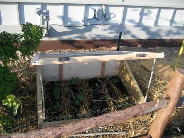 Winter Harvests With a Cold Frame