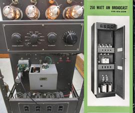 Modifying a 1950s AM Transmitter for Ham Radio