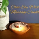 Chai Soy Wax Massage Candle