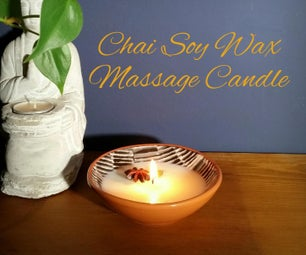 Chai Soy Wax Massage Candle