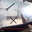 Huge DIY clear work-box! (to avoid dust)