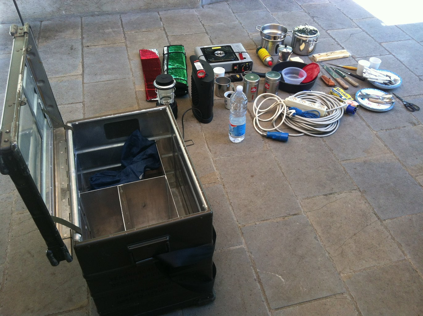 Making the All in One Camping Box