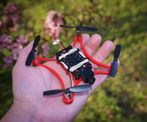 Micro 105 FPV Quadcopter - 3D Printed